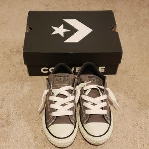 Converse CTAS Street Slip Shoe Charcoal Size 1 NIB